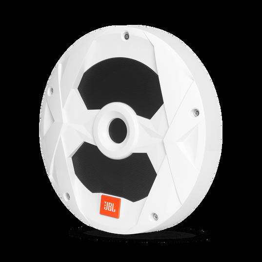"""Club Marine MS10LW - White Gloss - 10"""" (250mm) marine audio subwoofer with RGB lighting – White - Hero"""