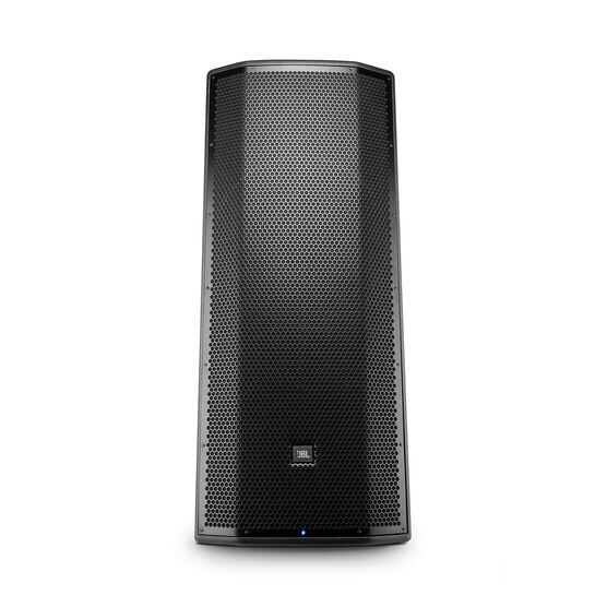 """JBL PRX825 - Black - Dual 15"""" Two-Way Full-Range Main System with Wi-Fi - Front"""