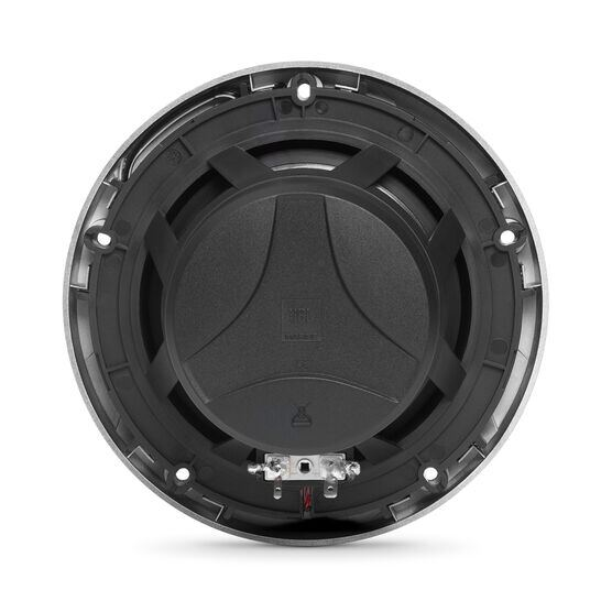 "Club Marine MS65LB - Black Matte - Club Marine MS65LB—6-1/2"" (160mm) two-way marine audio multi-element speaker with RGB lighting – Black - Back"