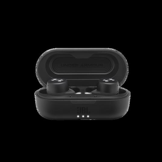 UA True Wireless Streak - Black - Ultra-compact In-Ear Sport Headphones - Detailshot 4