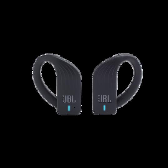 JBL Endurance PEAK - Black - Waterproof True Wireless In-Ear Sport Headphones - Front