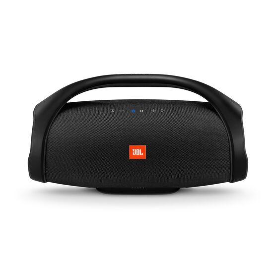 JBL Boombox - Black - Portable Bluetooth Speaker - Front