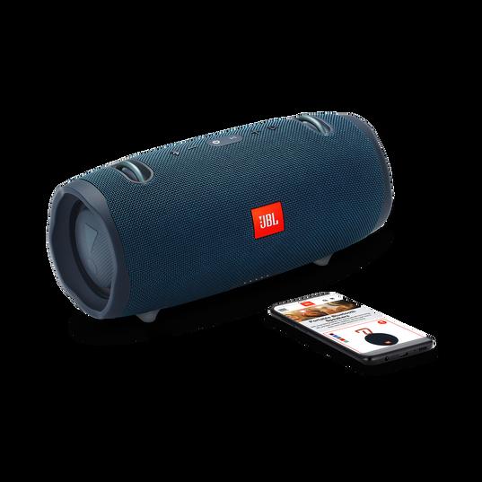 JBL Xtreme 2 - Ocean Blue - Portable Bluetooth Speaker - Detailshot 1