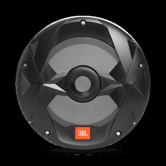 "Club Marine MS10LB - Black Matte - Club Marine MS10LB—10"" (250mm) marine audio multi-element subwoofer with RGB lighting – Black - Front"
