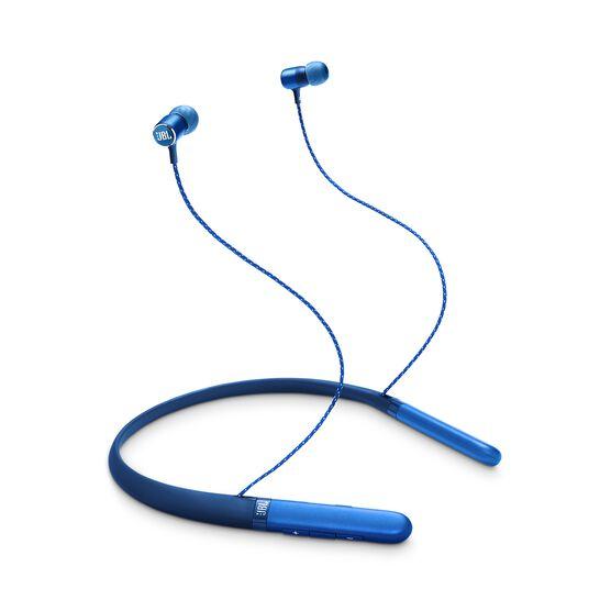 JBL LIVE 200BT - Blue - Wireless in-ear neckband headphones - Hero