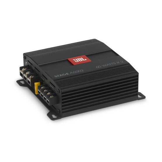JBL Stage Amplifier A6002 - Black - Class D Car Audio Amplifier - Detailshot 2
