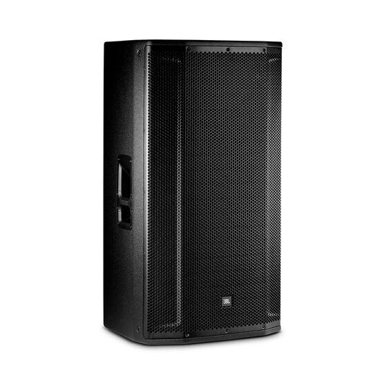 """JBL SRX835P - Black - 15"""" Three-Way Bass Reflex Self-Powered System - Hero"""