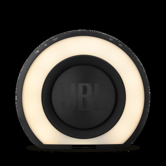 JBL Horizon - Black - Bluetooth clock radio with USB charging and ambient light - Back