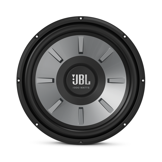 """JBL Stage 1210 Subwoofer - Black - 12"""" (300mm) woofer with 250 RMS and 1000W peak power handling. - Front"""