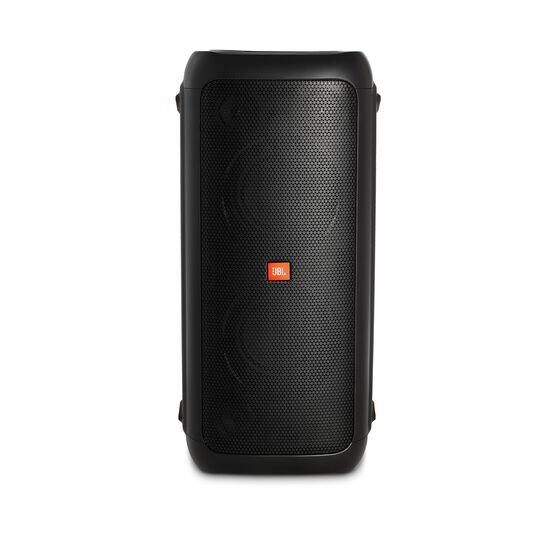 JBL PartyBox 300 - Black - Battery-powered portable Bluetooth party speaker with light effects - Front