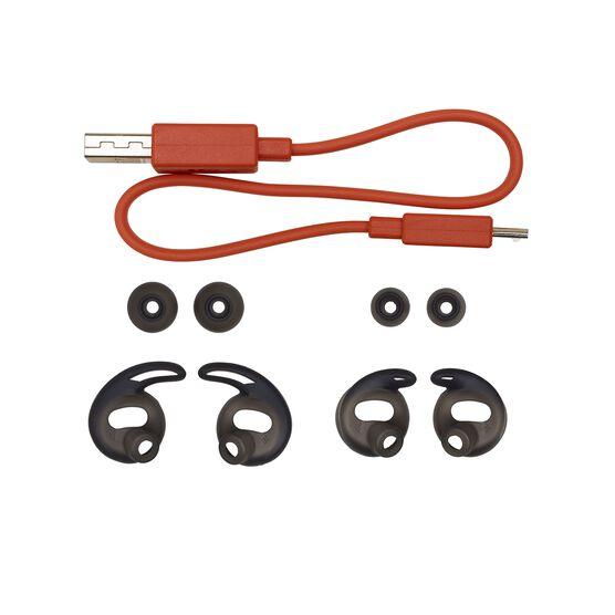 JBL REFLECT FLOW - Black - True wireless sport headphones. - Detailshot 2
