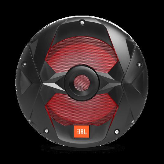 "Club Marine MS10LB - Black Matte - Club Marine MS10LB—10"" (250mm) marine audio multi-element subwoofer with RGB lighting – Black - Detailshot 1"