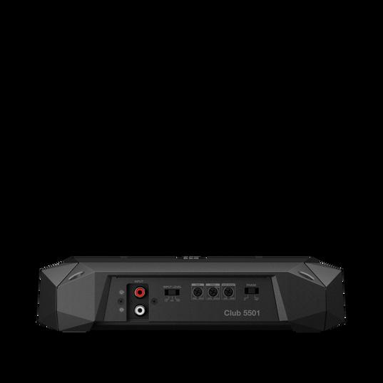 Club 5501 - Black - high-performance mono car amplifier - Back
