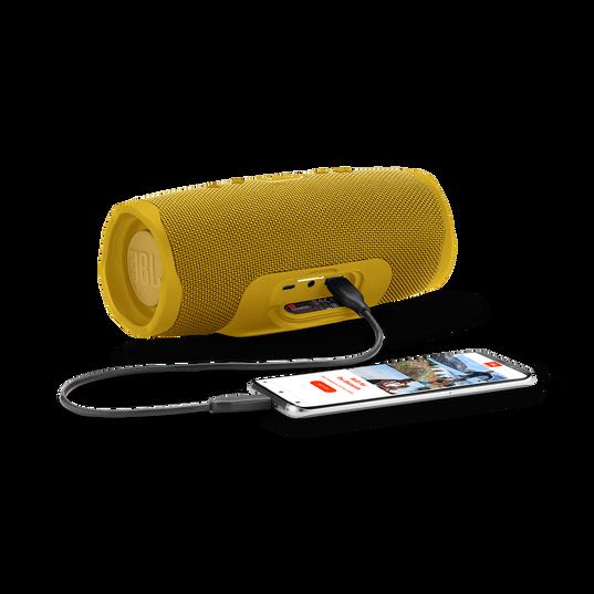 JBL Charge 4 - Mustard Yellow - Portable Bluetooth speaker - Detailshot 4