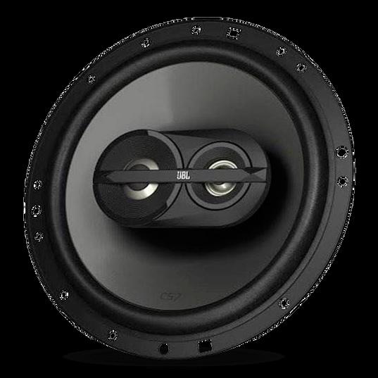 "CS763 - Black - 6-1/2"" three-way car audio loudspeaker - Hero"