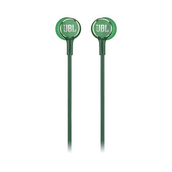 JBL LIVE 100 - Green - In-ear headphones - Front