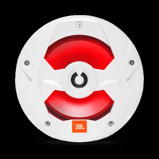 "Club Marine MS8LW - White Gloss - 8"" (200mm) two-way marine audio speaker with RGB lighting – White - Detailshot 3"