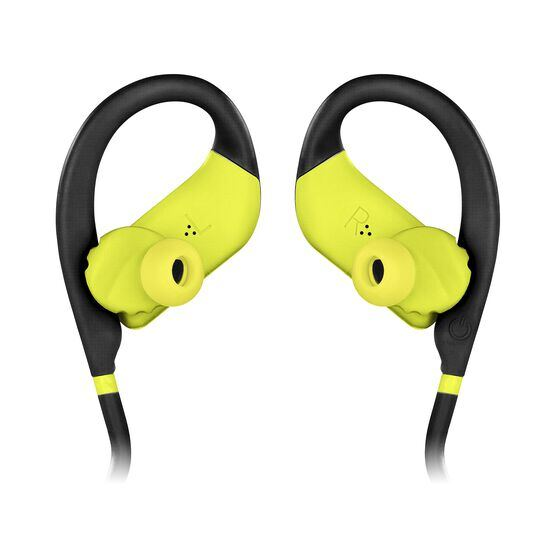 JBL Endurance JUMP - Yellow - Waterproof Wireless Sport In-Ear Headphones - Detailshot 3