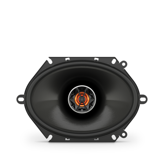 "Club 8620 - Black - 6""x8"" (152mm x 203mm) coaxial car speaker - Front"