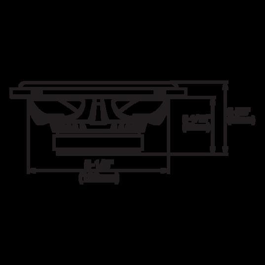 "GX600C - Black - 6-1/2"" car audio component speaker system, 210W - Detailshot 2"