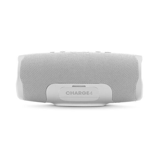 JBL Charge 4 - White - Portable Bluetooth speaker - Back