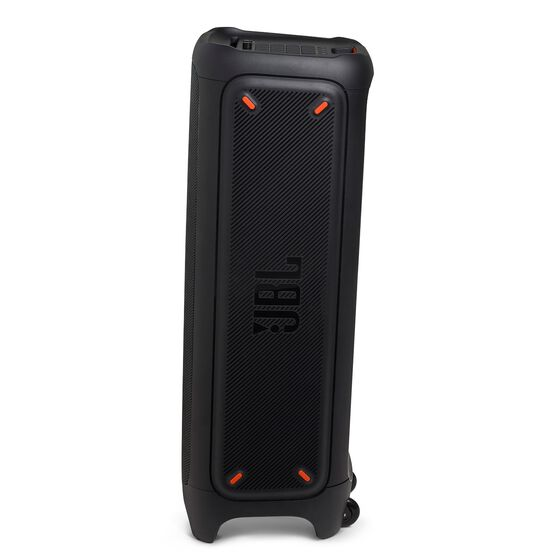 JBL PartyBox 1000 - Black - Powerful Bluetooth party speaker with full panel light effects - Left