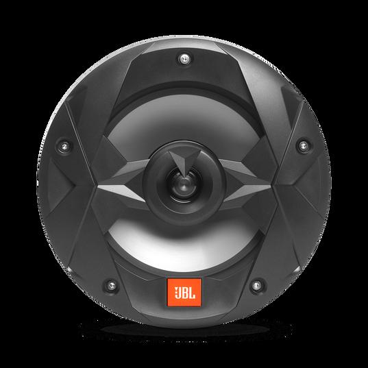 "Club Marine MS8B - Black Matte - Club Marine MS8B—8"" (200mm) two-way marine audio multi-element speaker – Black - Front"