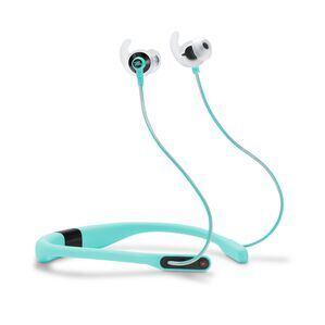JBL Reflect Fit - Teal - Heart Rate Wireless Headphones - Hero
