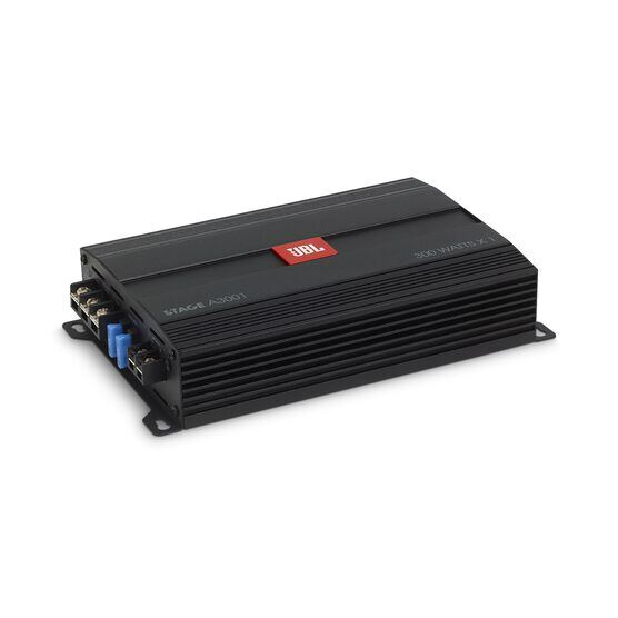 JBL Stage Amplifier A3001 - Black - Class D Car Audio Amplifier - Detailshot 2