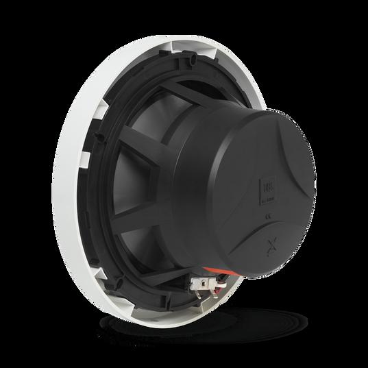"Club Marine MS8LW - White Gloss - 8"" (200mm) two-way marine audio speaker with RGB lighting – White - Detailshot 1"