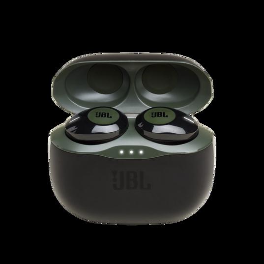 JBL Tune 120TWS - Green - True wireless in-ear headphones. - Hero