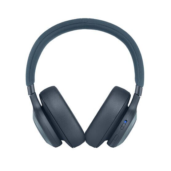 JBL E65BTNC - Blue - Wireless over-ear noise-cancelling headphones - Front