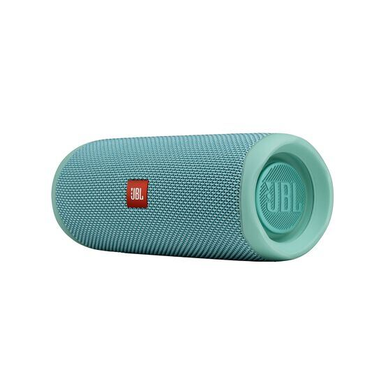 JBL FLIP 5 - Teal - Portable Waterproof Speaker - Detailshot 3