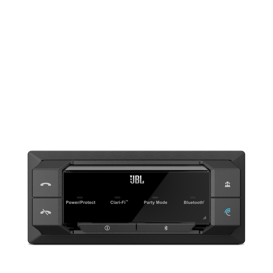 GRAND TOURING GTR 104 - Black - 100W RMS 4-Channel Stadium Series Bluetooth Car Amplifier with Clari-Fi Technology and Party Mode - Detailshot 4