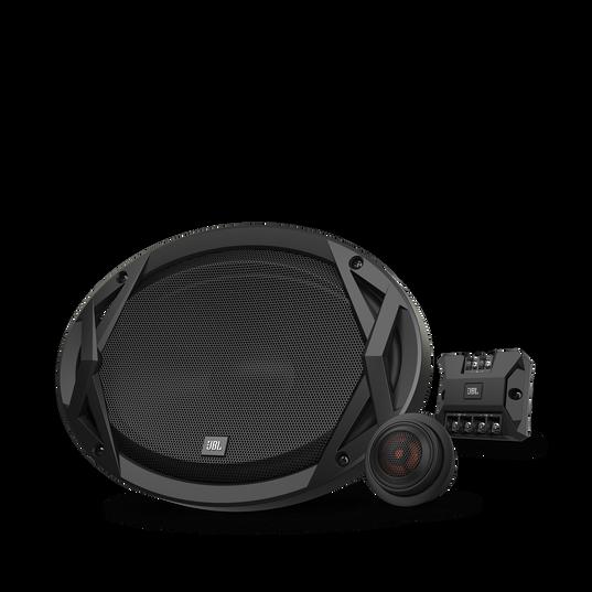 "Club 9600c - Black - 6""x9"" (152mm x 230mm) component speaker system - Hero"