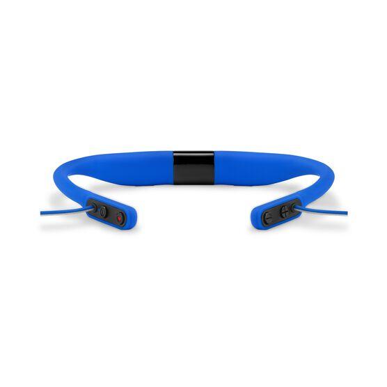 JBL Reflect Fit - Blue - Heart Rate Wireless Headphones - Detailshot 2