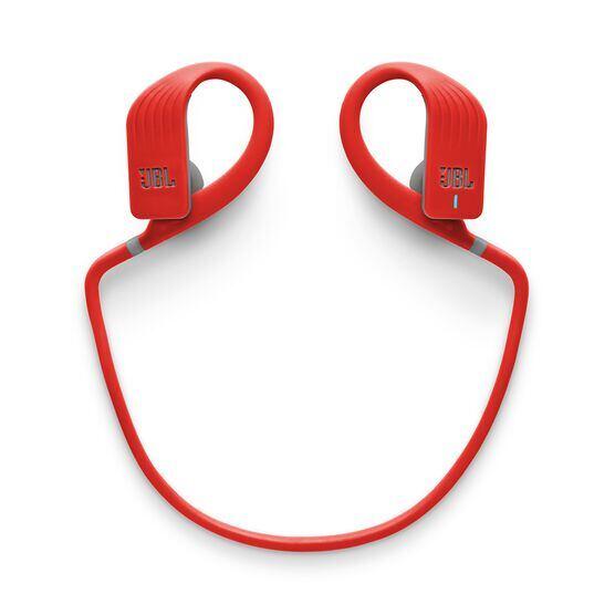 JBL Endurance JUMP - Red - Waterproof Wireless Sport In-Ear Headphones - Detailshot 2
