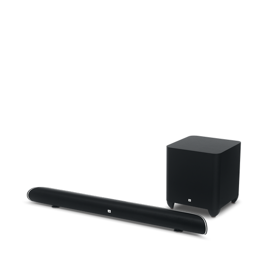 Cinema SB 450 - Black - 4K Ultra-HD soundbar with wireless subwoofer. - Hero
