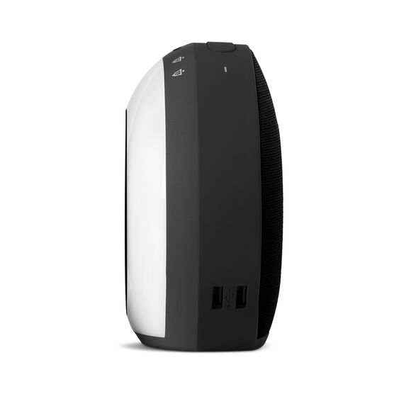 JBL Horizon - Black - Bluetooth clock radio with USB charging and ambient light - Detailshot 6