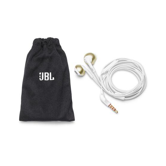 JBL TUNE 205 - Champagne Gold - Earbud headphones - Detailshot 2