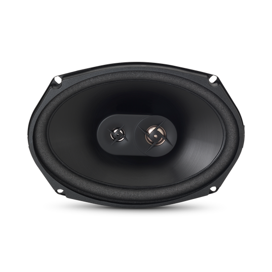 GT6-69 - Black - 6x9 inch coaxial 3-way - Front