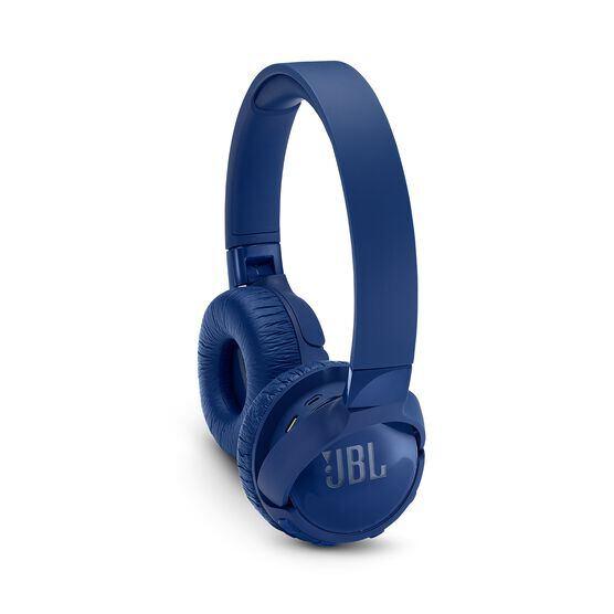 JBL TUNE 600BTNC - Blue - Wireless, on-ear, active noise-cancelling headphones. - Detailshot 1