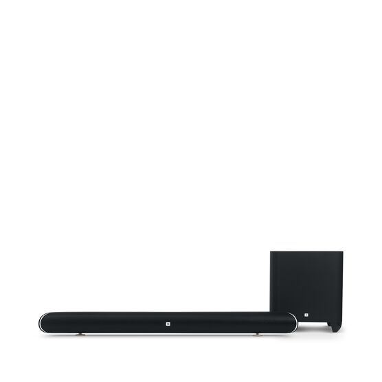 Cinema SB 450 - Black - 4K Ultra-HD soundbar with wireless subwoofer. - Front