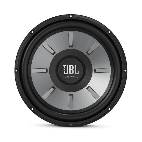 "JBL Stage 1210 Subwoofer - Black - 12"" (300mm) woofer with 250 RMS and 1000W peak power handling. - Front"