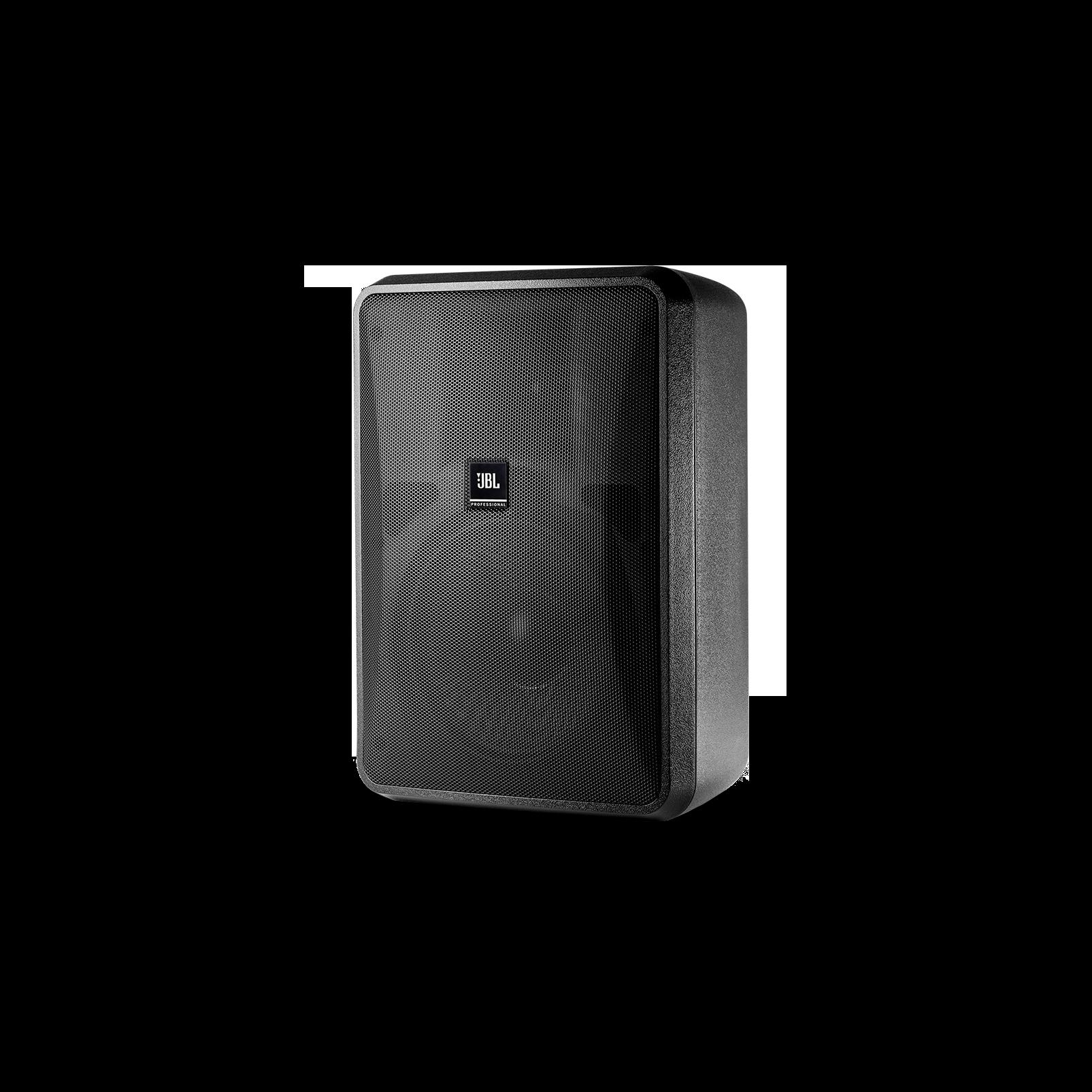 JBL Control 28-1 (Pair) - Black - High Output Indoor/Outdoor Background/Foreground Speaker - Hero