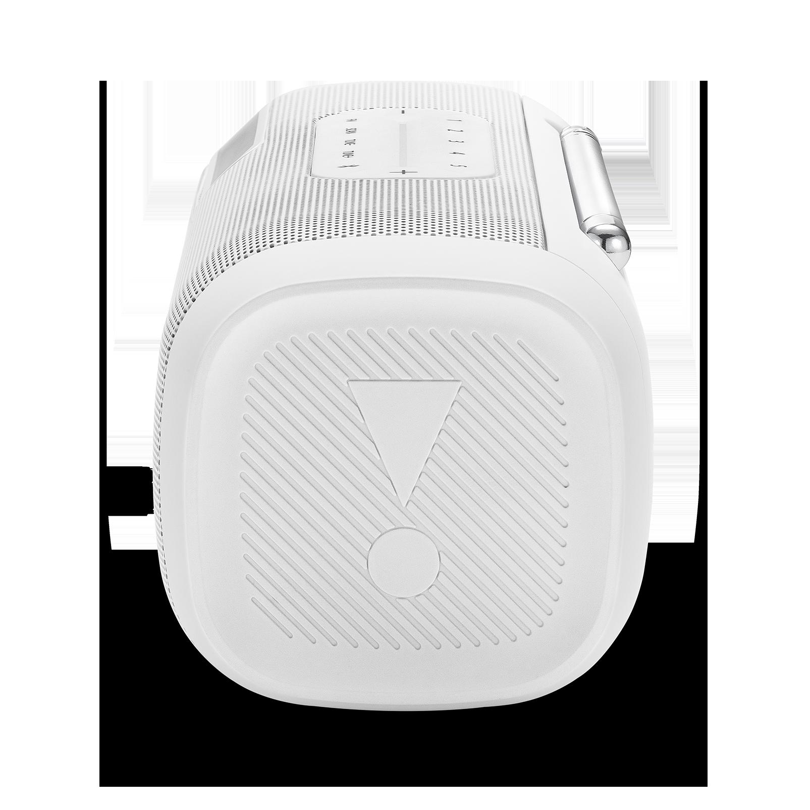 JBL Tuner FM - White - Portable Bluetooth Speaker with FM radio - Detailshot 1