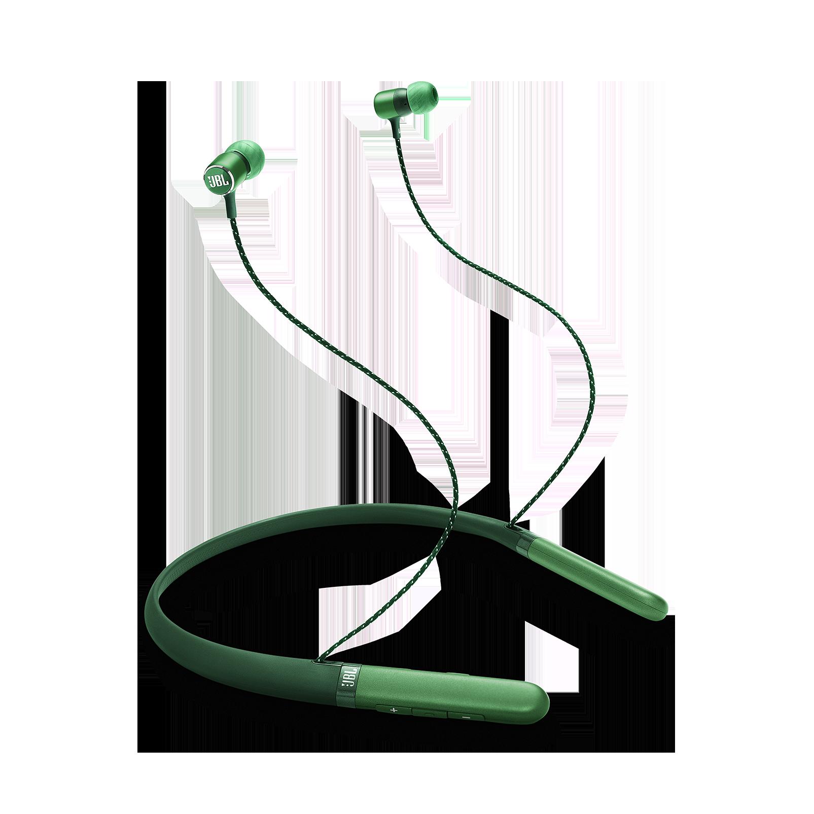 JBL LIVE 200BT - Green - Wireless in-ear neckband headphones - Hero