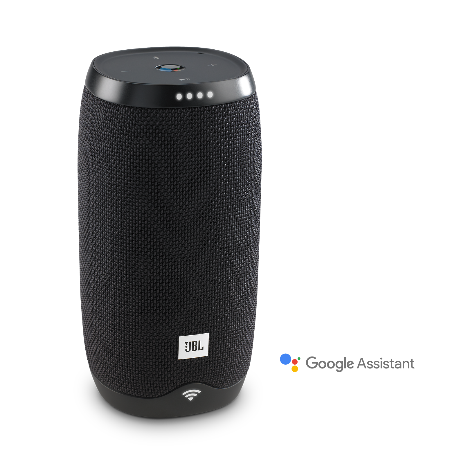JBL Link 10 - Black - Voice-activated portable speaker - Hero