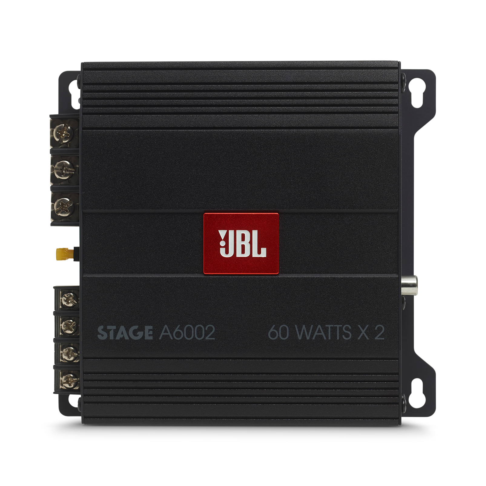 JBL Stage Amplifier A6002 - Black - Class D Car Audio Amplifier - Front