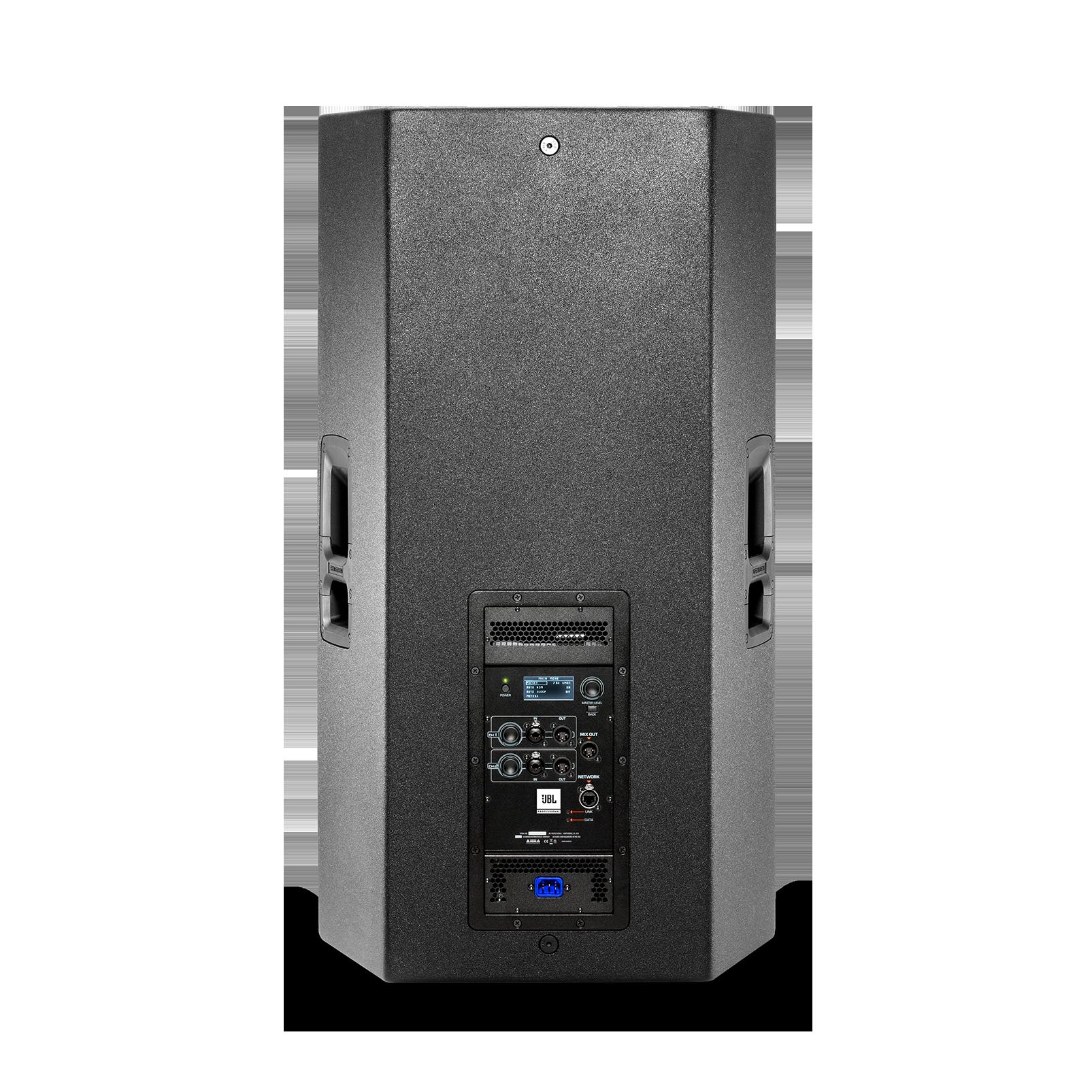 """JBL SRX835P - Black - 15"""" Three-Way Bass Reflex Self-Powered System - Back"""